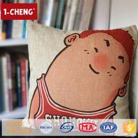 Hot Sale Creative Japanese Design Printed Cushion Home Decor Pillow Case Cushion Cover 50x50
