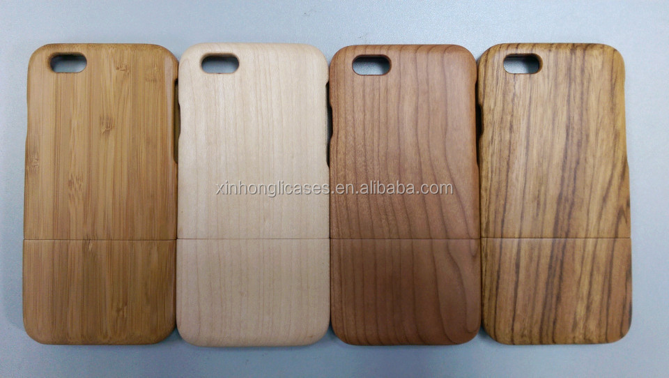 Bamboo wood case for iPhone 6
