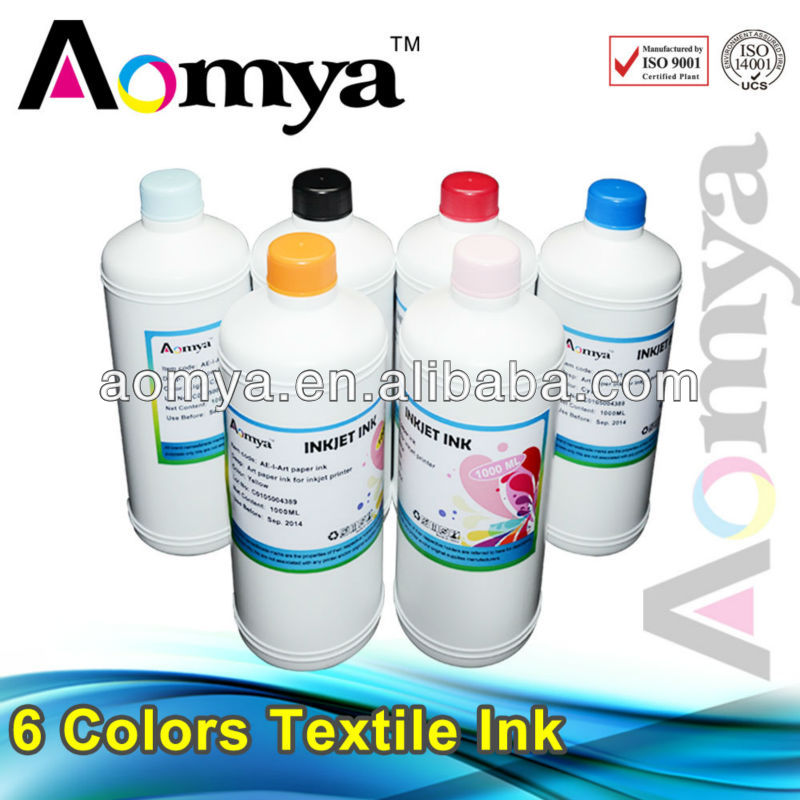 inkjet textile ink for epson l100 printer selling at factory price