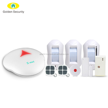 Lora 868mhz security home WIFI/PSTN alarm system with monitoring station , support with IP camera.