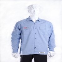 New type flame resistant and antistatic security shirt with EN ISO 11612