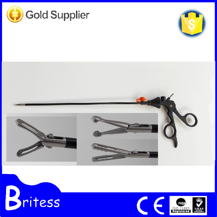 Hi-Q laparoscopic atraumatic grasping forceps/surgical operating instrument