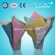 Cheap and fine disposable paper +pe hospital use dental bib