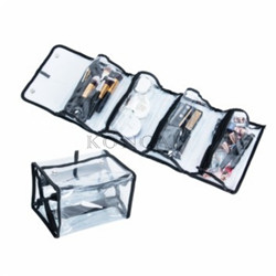 Portable Waterproof Small Zipper PVC Cosmetic Bag