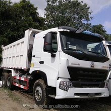 sinotruk 10 wheel howo A7 dump truck price philippines