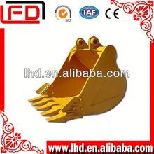Earth moving machinery parts Hitachi excavator&digger part rock bucket for Caterpillar excavator parts