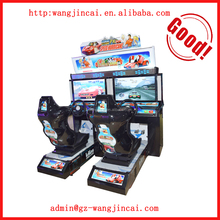 coin operated coast racing online games 3D outrun car sports arcade games machines