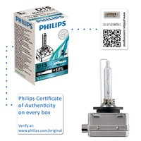 Genuine Philips X-treme Vision D1S Xenon HID Headlight Bulb (Single) 85415XVC1 - Also available in D2S | D2R | D3S