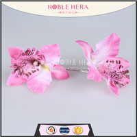 Noble Hera 40R09BFY Promotion Gift Lily Flower hair clips accessories