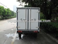 three wheel motorcycle closed cargo box/cargo three wheeler/tricycle