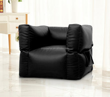 Customized PU Leather Bean Bag Cubic Square Chair Multiple Colors, Provides Ultimate Comfort, Great for Any Room