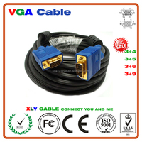 Top Hot Selling Best Price Gold Plated VGA cable SVGA D-SUB Cable