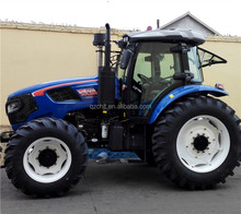 China low price 4x4 mini farm tractor 504 with front loader