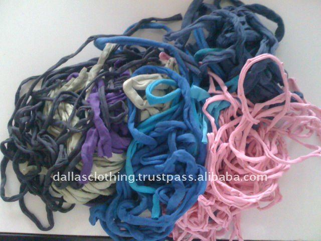 Cotton knitted Selvedge waste
