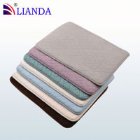 Hot Sale loofah padded oval gym Bath Mat