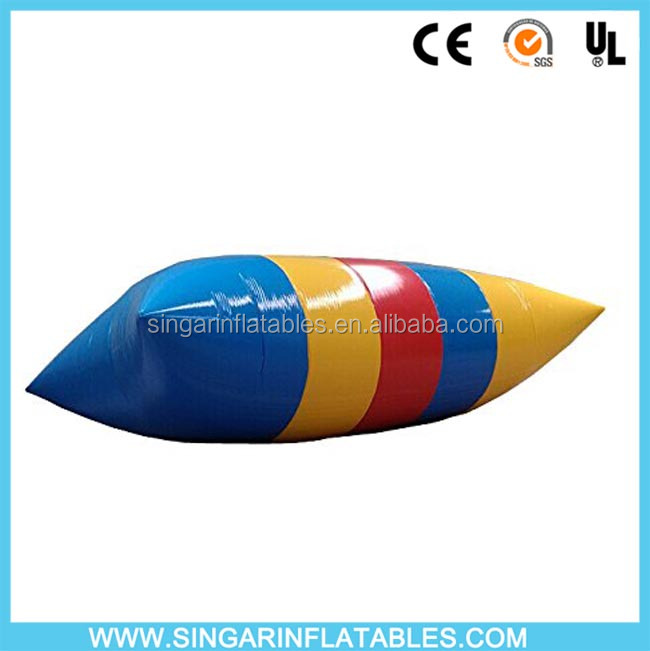 Lake sea games Inflatable catapult blob for water Cheap