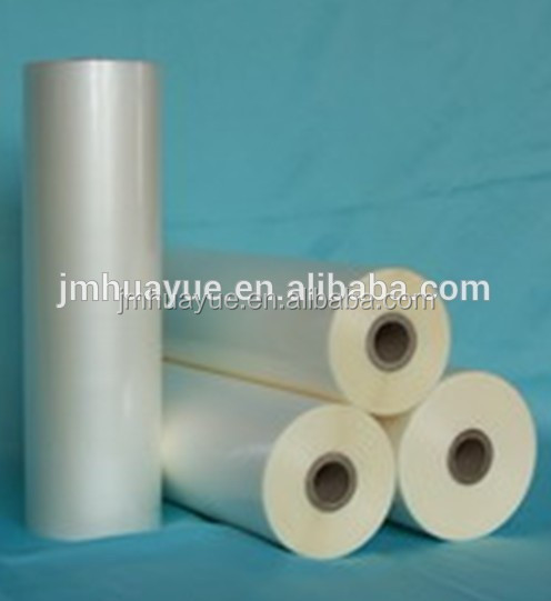 BOPP embossing thermal lamination film