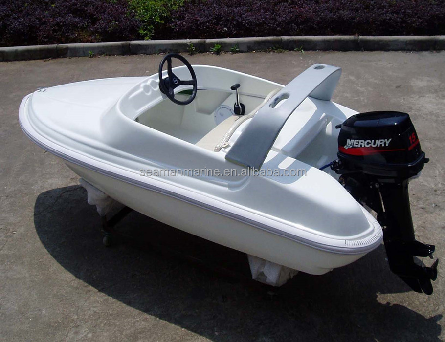 3.2m Fiberglass high speed Motor jet Boat with CE Certification