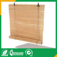 nature bamboo roller blinds wood curtain from kingo