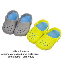 wholesale china kids silicone shoes children summer beach sandals