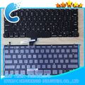 "100% New Keyboard for Macbook Pro A1502 13.3"" RETINA ME864 & ME865 Sp Spanish TECLADO Keyboard with new backlight"
