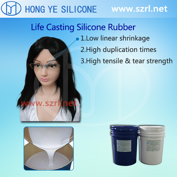 High quality rubber silicone for real size sex doll