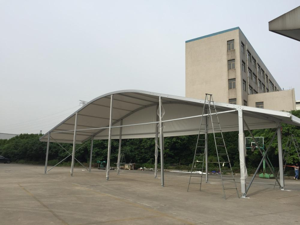 large arcum marquee tent, strong outdoor arch roof tent for event, trade show, pavilion, sport