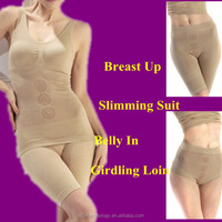Sexy slim tummy tuck beauty body suit burn fat shaper good quality burning fat fir latex shaper