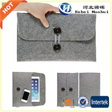 Cheap Felt sleeve cover for Ipad with fasion design