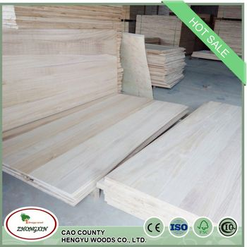 korea market paulownia balsa wood edge glued taekwondo board