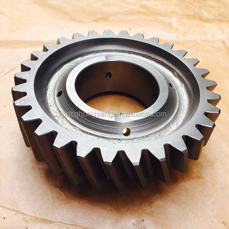 QJ Auto Transmission QJ1506 Truck and Bus gear box parts output shaft 4th Gear 115304065 from Chinese Manufacrerture
