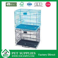 pet display cage metal dog cage