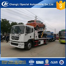 Factory selling 4x2 One Drive Three Flatbed Wrecker Towing Truck 10 ton Heavy Duty Recovery Tow Vehicle under lift 6T Customized
