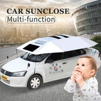 SUNCLOSE sun shade oxford fabric heat resistant half car cover