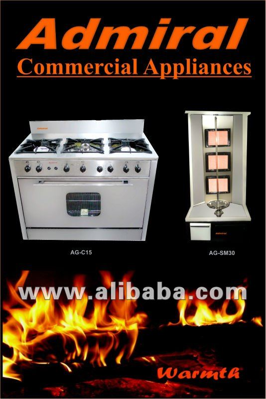 Gas Cooker commercial oven