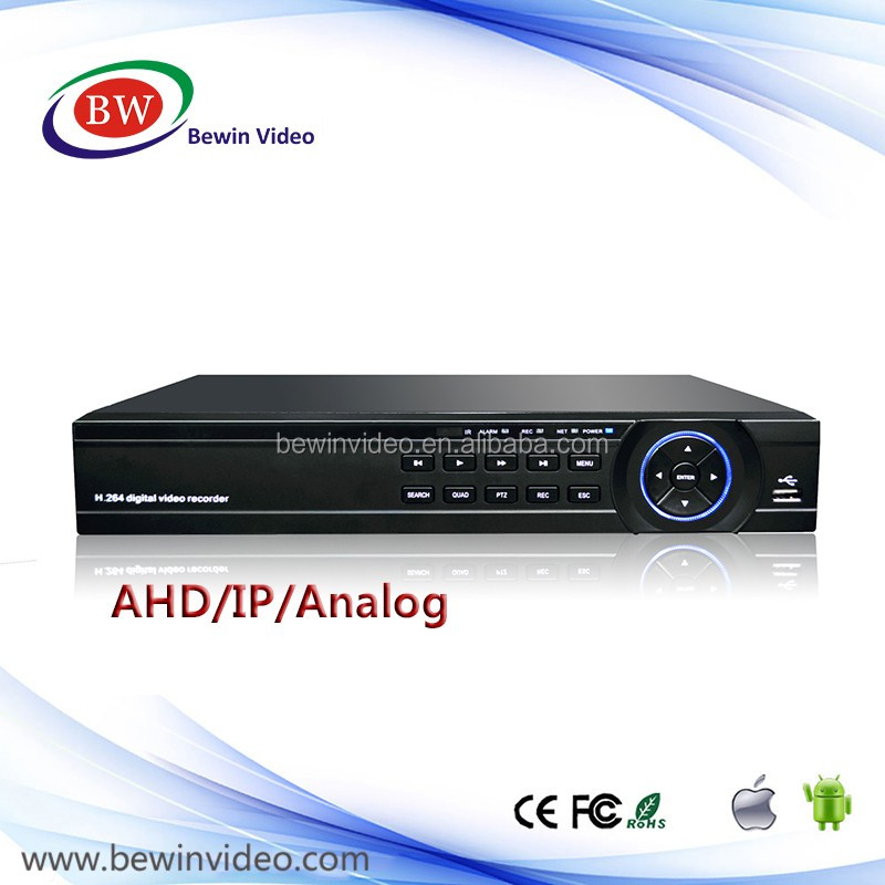 1080N 8ch AHD DVR for Security camera system Hybrid DVR 2ch AHD+2ch IP/Analog IP 4ch 960P