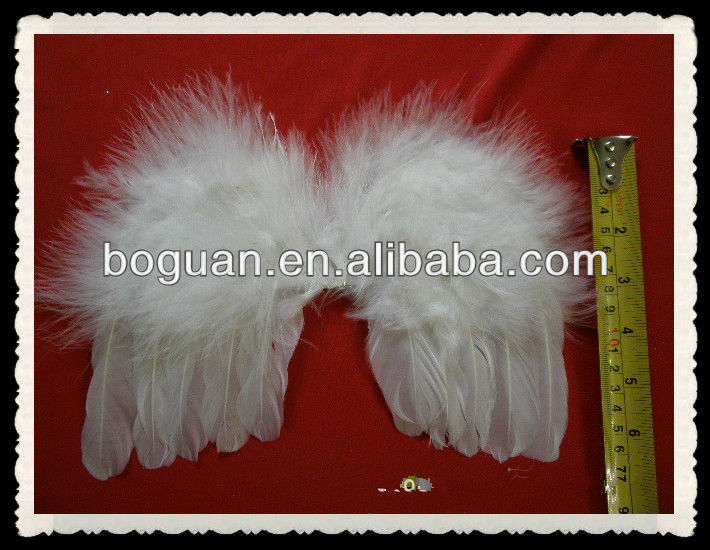 18CM SNOW GOOSE WING FEATHERS/angel wing