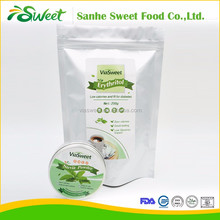 Wholesale cheap price food grade natural sweetener Erythritol powder for ice cream, zero calorie chocolates, sugar
