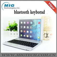 tablet keyboard case for ipad 5 aluminum case Wireless Bluetooth stand cover