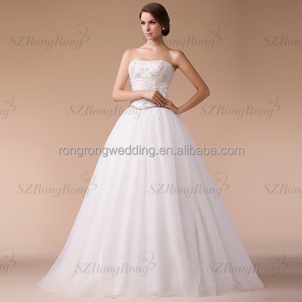 HM96835 Strapless Crystal Beaded Bridal Ball Gown Zuhair Murad Luxury Wedding dress