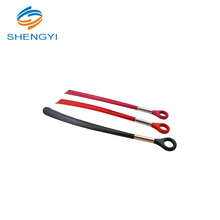 China wholesale no bend custom long handled plastic shoe horn