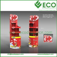 New Design Corrugated Cardboard Display for Nuts Display, Pop Up Display