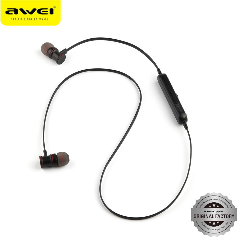 Wholesale price original awei and ipipoo brands blluetooth oem high end earphones blluetooth