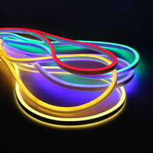 Waterproof Sign <strong>RGB</strong> SMD 2835 8*16MM 110V Flexible LED Strip Neon Light