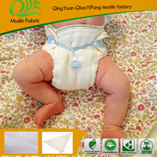 Ohbabyka reusable washable prefold and flat cloth diapers factory
