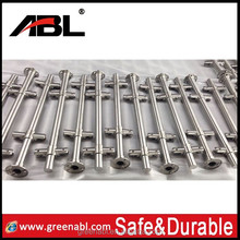Ablinox stainless steel corner guards for walls