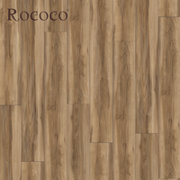 Hot Sell Apple Wood LVT Click Vinyl Plank Flooring, PVC Vinyl Flooring