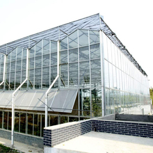 gutter connected polycarbonate sheet multispan greenhouse