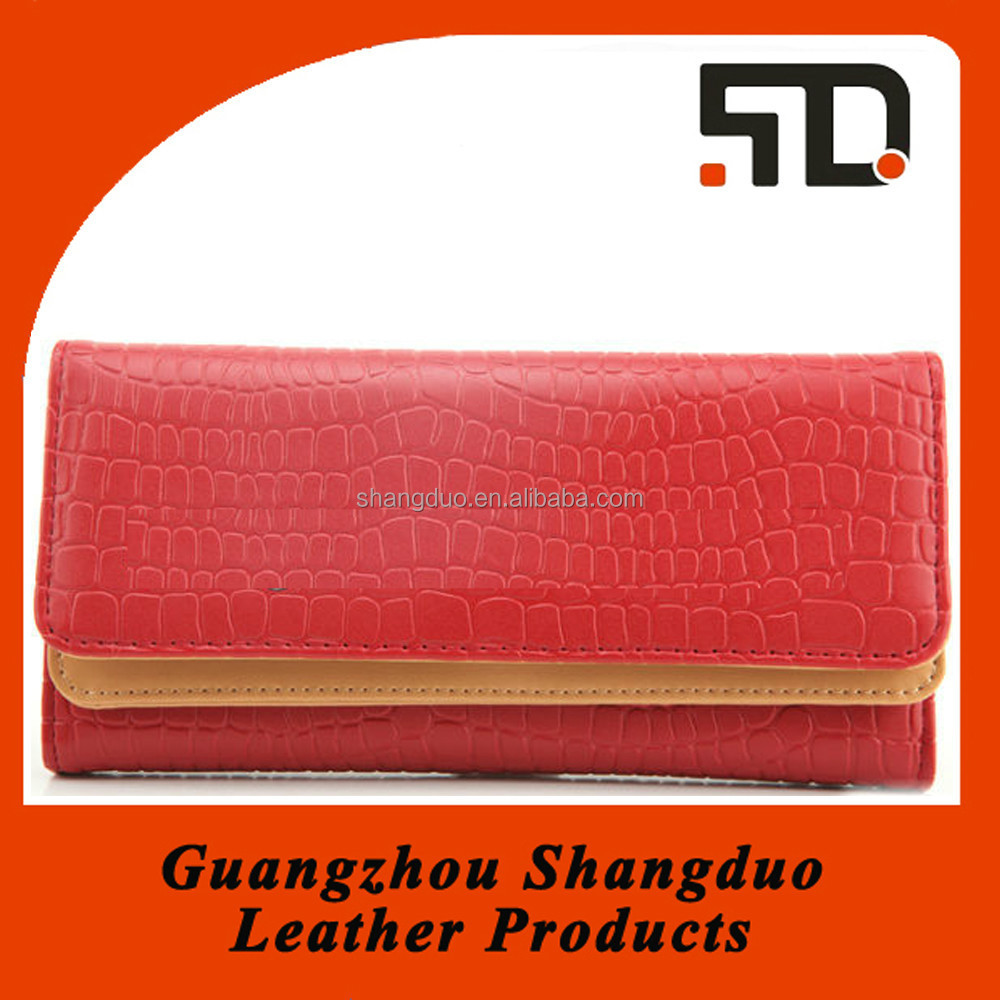 Manufacture Wholesale Price Handmade Women Leather Purse