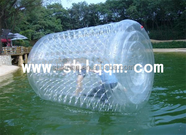 factory price inflatable water roller for water game